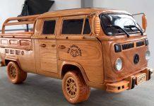 Volkswagen Type 2 από ξύλο video 2021