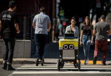 serve robotics αυτόνομο ρομπότ delivery 2021
