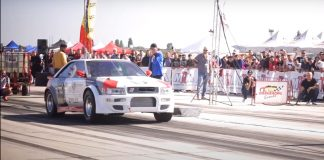 Audi S2 quattro dragster ρεκόρ 2021