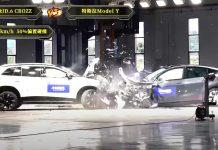 crash test tesla model y